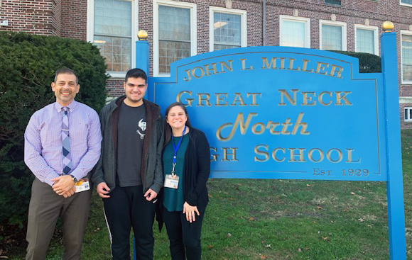 NH Junior, Ben Nassimi, named BOCES student of the quarter.