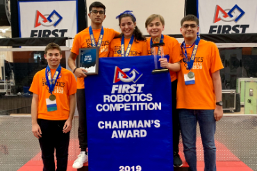 robotics students win award