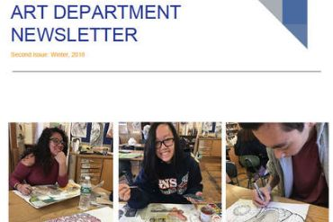 SHS Art Department News Letter