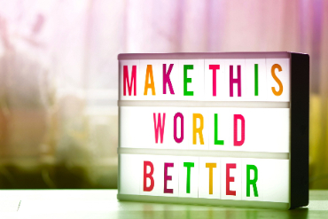 make this world better photo