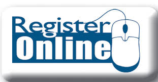picture of a sign saying register online