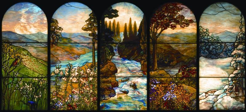 picture of Tiffany stained glass