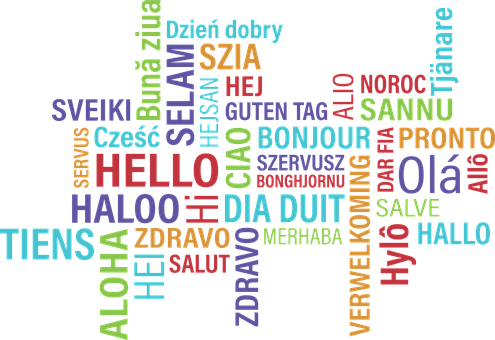 """Hello"" in different languages"