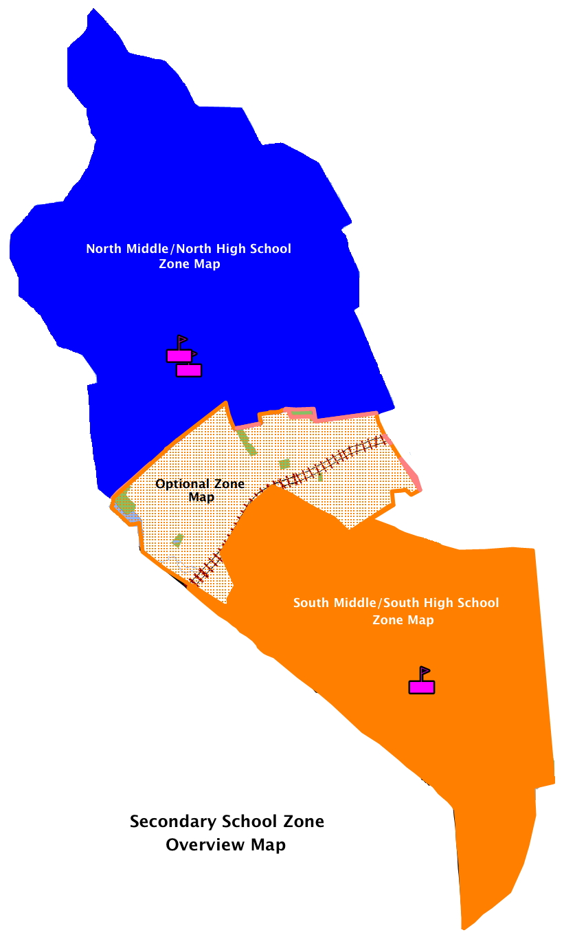 Image of Secondary School Zone Map