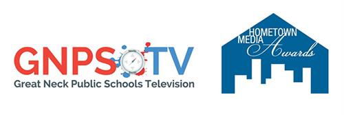 Images of the GNPS-TV logo and the Hometown Media Awards logo